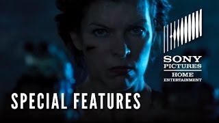 "Resident Evil: The Final Chapter SPECIAL FEATURES ""Mila on Stunts & Weaponry"""