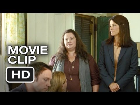 Sandra Bullock - Subscribe to TRAILERS: http://bit.ly/sxaw6h Subscribe to COMING SOON: http://bit.ly/H2vZUn Like us on FACEBOOK: http://goo.gl/dHs73 The Heat Movie CLIP - We...