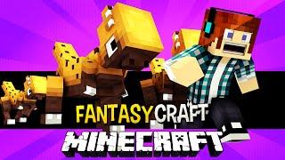 O Parque dos Dinossauros !! #15 FantasyCraft - Minecraft