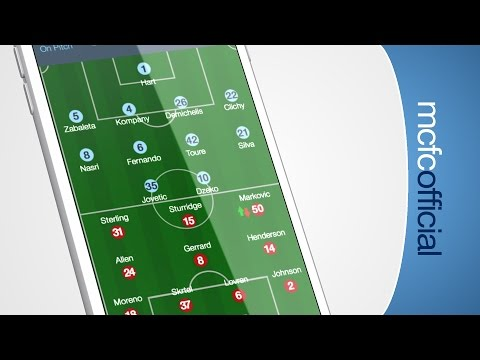 Video: NEW CITYMATCHDAY APP | Live video channels, stats and more
