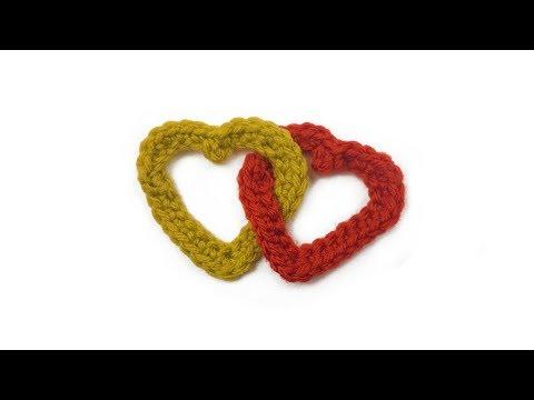 Linked Hearts Crochet Tutorial | Poppy Shop Patterns