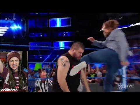 WWE Smackdown 3/20/18 Daniel Bryan FIRES KO and Sami Zayn
