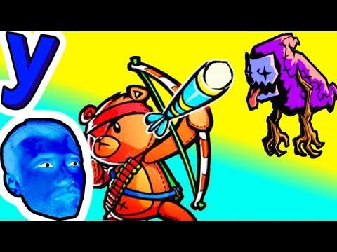 ПРоХоДиМеЦ Вернулся чтобы ПОДДЕРЖАТЬ МЕДВЕЖОНКА! #395 ИГРА для ДЕТЕЙ - Dream Defense (видео)