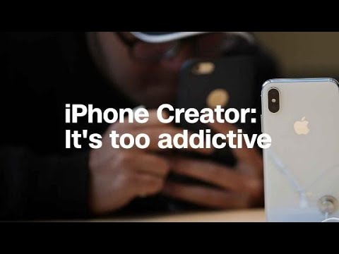 iPhone co-creator says phone's become too addictive