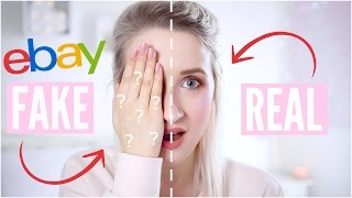 Video REAL vs FAKE Makeup - TESTING EBAY FAKES | Sophie Louise MP3, 3GP, MP4, WEBM, AVI, FLV Oktober 2018