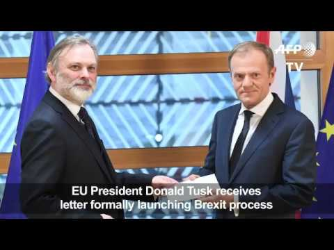 European Council President accepts official notification about Brexit. March 29, 2017