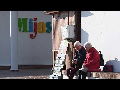 Spanien: Dunkle Wolken über dem britischen Rentnerparadies Mijas