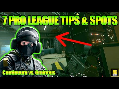 7 Pro tips from Continuum - Ominous | Win more matches in Rainbow Six Siege with new spots and tips