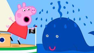 Peppa Pig Português Brasil  O capitão papai  Família de Peppa  HD  Desenhos Animados