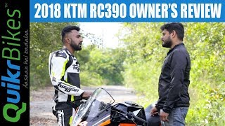 3. 2018 KTM RC 390 Long Term Ownership Review | Should you buy or not?