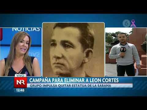 Impulsan proyecto para retirar estatua de León Cortés