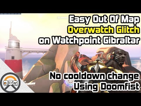 OCG - Easy Out Of Map Overwatch Glitch on Watchpoint Gibraltar (видео)