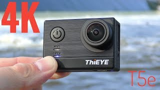 The review of the ThiEYE T5e 4K Action Camera & Sample Footage.Find this at Gearbest: http://bit.ly/2uI9G6f - $108.99 with coupon code: ThiEYEYTB                      Amazon: http://geni.us/1SE0zoP -                   Aliexpress: http://ali.ski/BaVuJX -                   Banggood: http://fas.st/_WT6s - In this review of the ThiEYE T5e you will be able to check out lots of sample videos filmed with plenty of light and of course some filmed in low light. There are also sample pictures and a sample timelapse. There are also a couple of microphone audio samples. Overall this camera performs very well and offers great value for it's price.