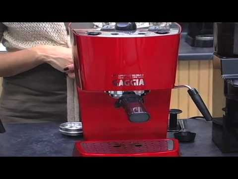 Gaggia Espresso Color  Machine Introduction