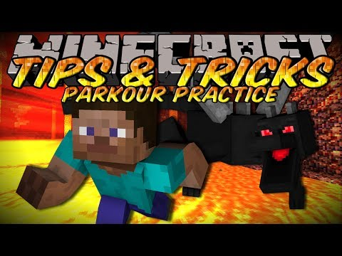 Minecraft Tips And Tricks – Parkour Practice with World Downloader!