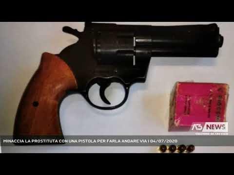 MINACCIA LA PROSTITUTA CON UNA PISTOLA PER FARLA ANDARE VIA | 04/07/2020