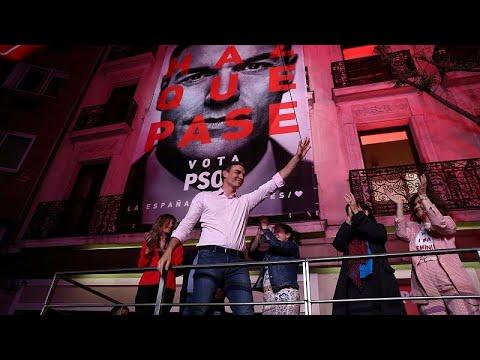 Spanien: Triumph des linken Sanchez als »Sieg für die ...