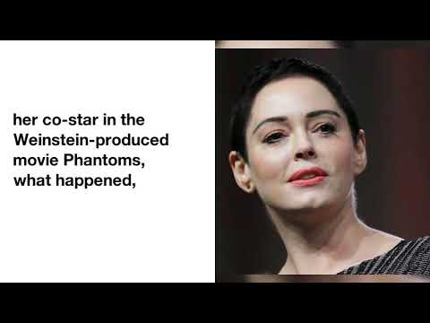 Rose McGowan Reacts After Harvey Weinstein's Lawyer Calls Her Sexual Assault Claim a ''Lie''