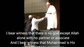 William Convert To Islam After Sheikh Khalid Yasin Lecture (the Purpose Of Life) In Dubai