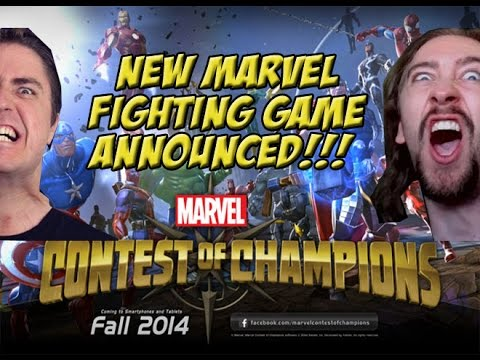 0 new marvel fighting game announced!!! marvel contest of champions
