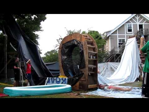 Looping Backyard Waterslide of DOOM