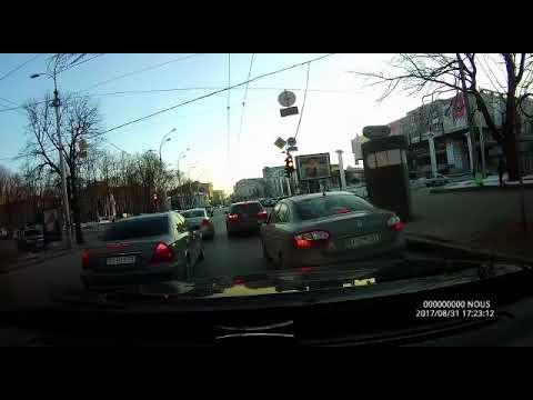 Жестокая авария в Харькове