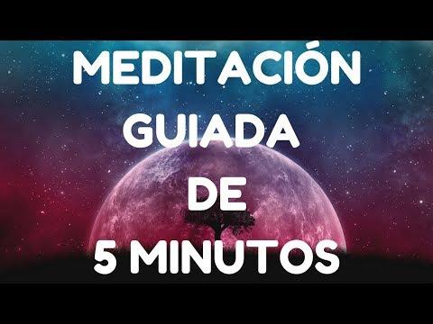MEDITACIÓN GUIADA DE 5 MINUTOS
