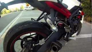 6. 2013 Triumph Street Triple R