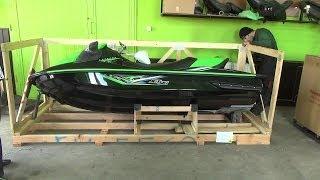 8. UNBOXING Kawasaki STX-15F 2014r  [Moto Klinika]
