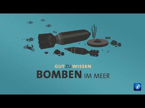 Bomben im Meer