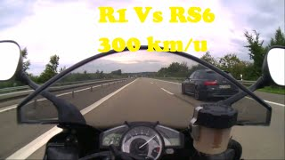 fast driving with a audi RS6Like and share to keep the video alive