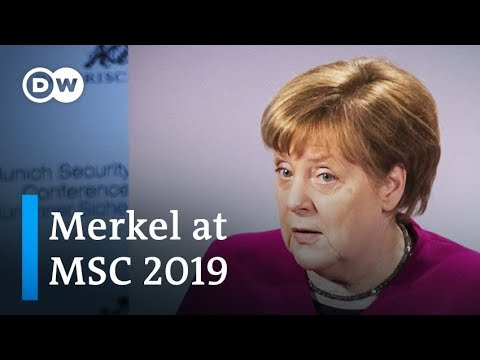 MSC 2019 Merkel full speech and analysis  DW News