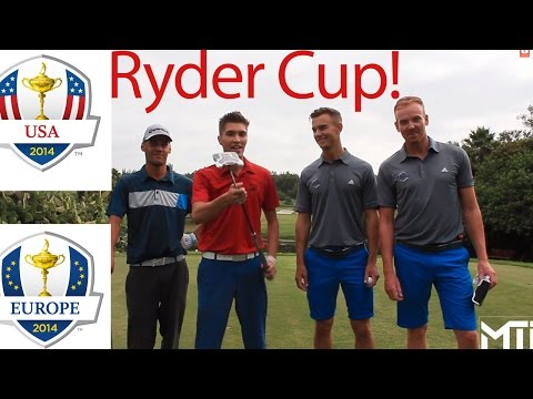 """Golf Course Vlog"" Me and My Golf V.S. MTi ""Ryder Cup"" USA VS Europe"
