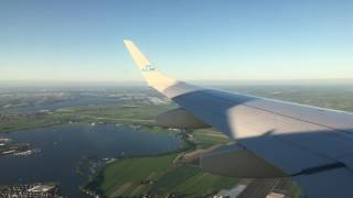 Awesome flight to Amsterdam with E190 Please like sub ThanksFlight information:Flight date: 22nd January Post day:  29th MayAircraft : Embraer 190Filming device : Iphone 7plus