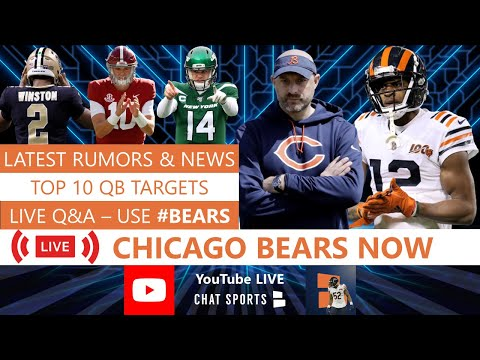 Chicago Bears Now LIVE with Harrison Graham (Feb. 23rd)
