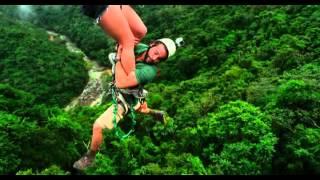 In the blood 2014 zipline stunt