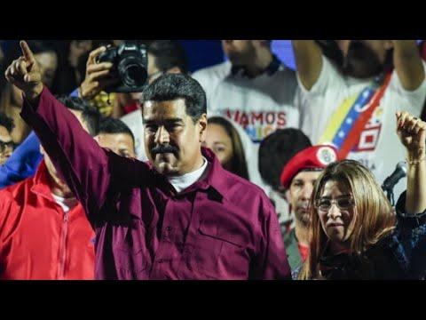 العرب اليوم - الرئيس الفنزويلي نيكولاس مادورو يفوز بولاية ثانية