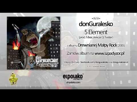 Tekst piosenki DonGuralEsko - 5 Element po polsku