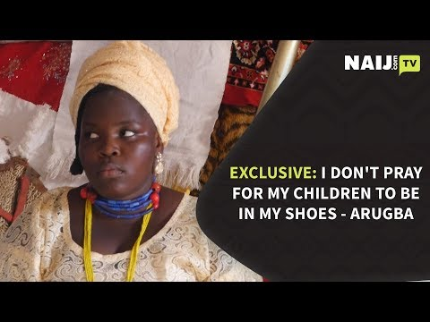Osun Osogbo Festival EXCLUSIVE: I Don't Pray for My Children to Be in My Shoes - Arugba | Legit TV