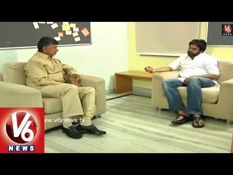 Chandra Babu And  Pawan Kalyan Talking  Byte