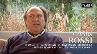 Carlos Rossi - Decano de la Facultad de Ciencias Agrarias de UNLZ