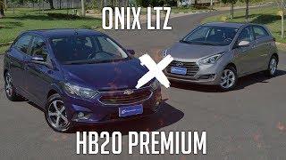Ver o vídeo Comparativo: Onix LTZ x HB20 Premium