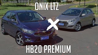 Comparativo: Onix LTZ x HB20 Premium