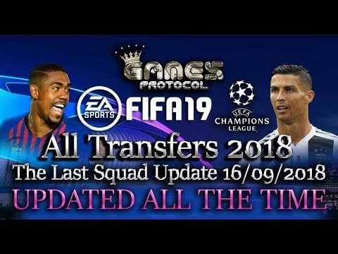 FIFA 18 PC NEW All Transfers 2018 The Last Squad Update 16/09/2018 UPDATED ALL THE TIME