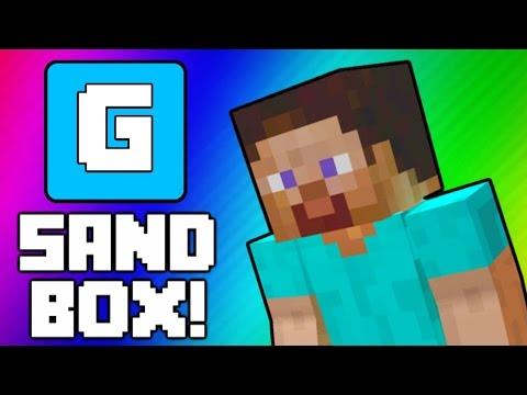 Gmod Minecraft!: Tutorials, Pictionary, Ender Dragon (Garry's Mod Sandbox Funny Moments & Skits)