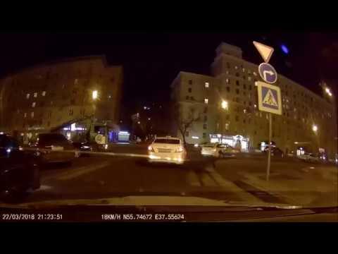 ДТП в Москве на Кутузовском проспекте