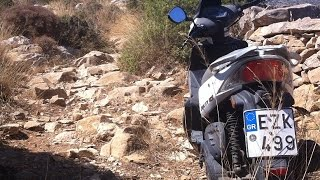 8. Off-roading 125cc Kymco scooter - Amorgos 4