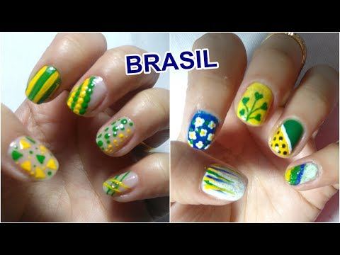 10 UNHAS DECORADAS PARA A COPA DO MUNDO 2018  #1  Sil Soares