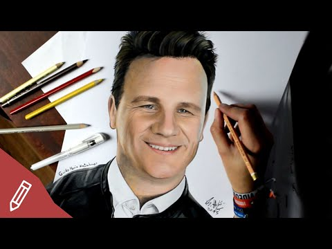 SPEED DRAWING: Guido Maria Kretschmer (Shopping Queen) REALISTIC PENCIL PORTRAIT   Zeichnen
