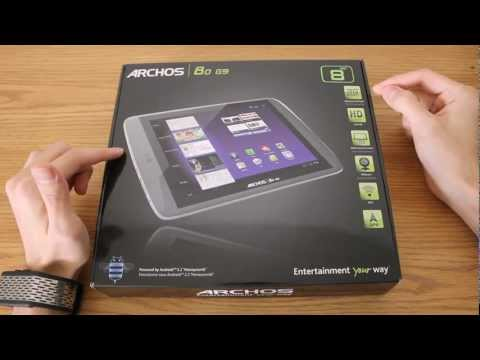 Archos 80 G9 8Gb - Unboxing & Overview (ENGLISH)